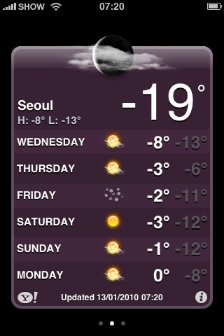 Now I'm really doubting the global warming story.   Beat that temperature mum^^   Sent from my iPhone
