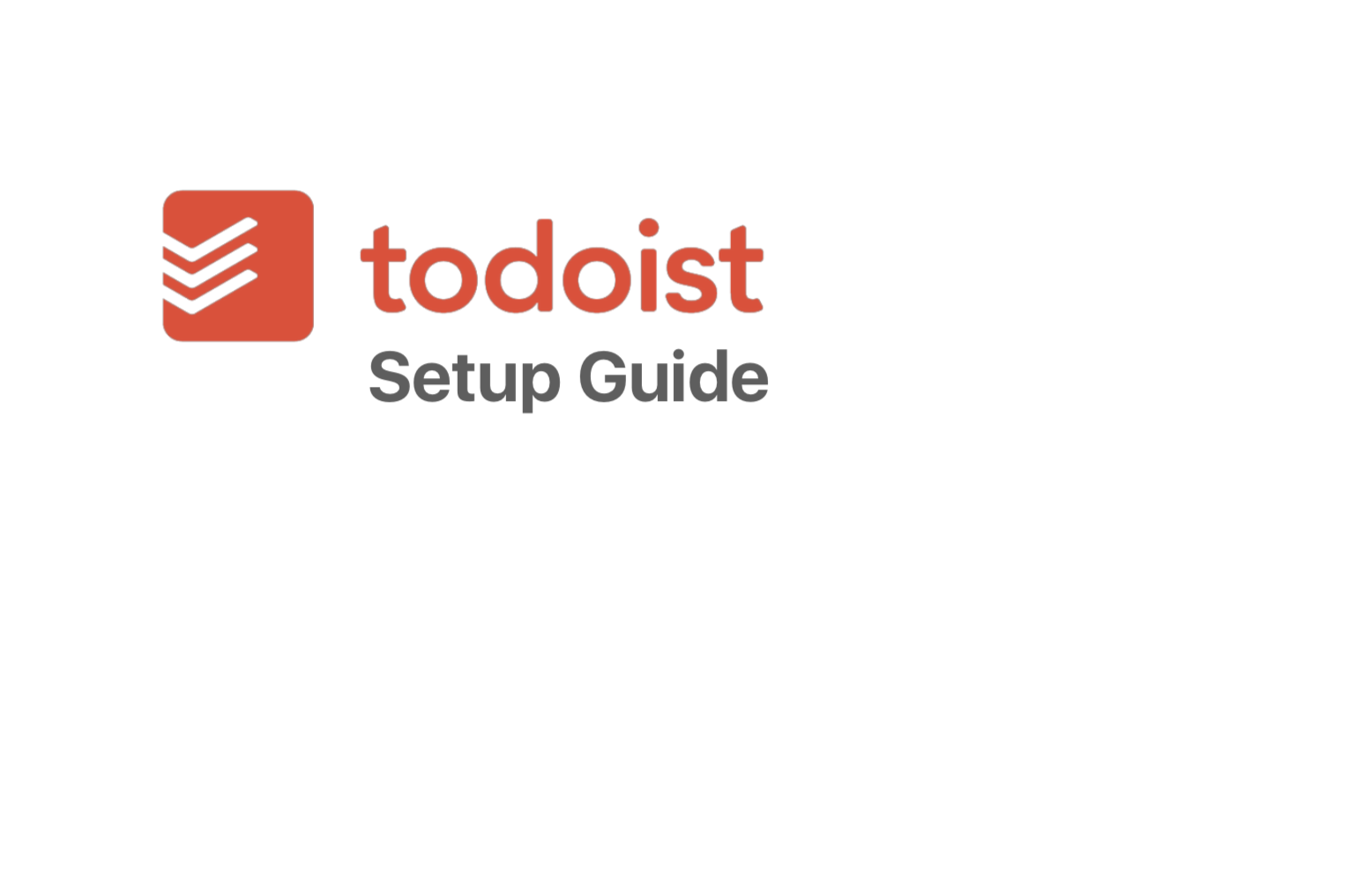 Beginners Guide To Setting Up Todoist - If you are new to Todoist, here's a simple guide to getting it set up and working for you in next to no time.