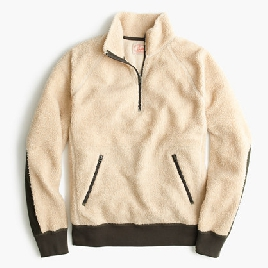 Grizzly fleece half-zip pullover