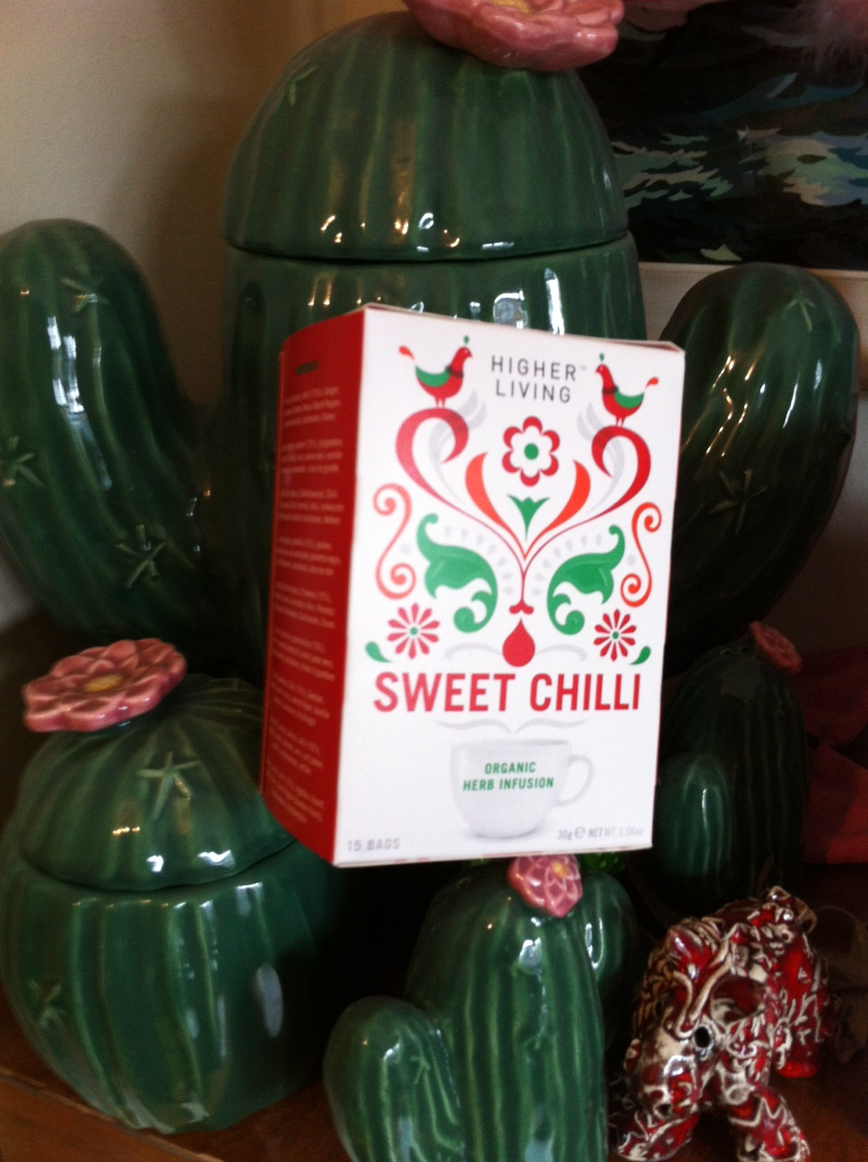 Would You Be Brave Enough to Try Higher Life's Sweet Chilli Tea?