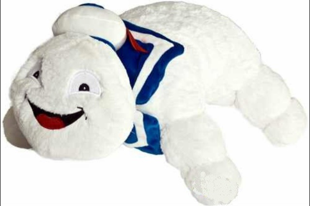 Hauntingly Odd Stay Puft Marshmallow Man Merchandise
