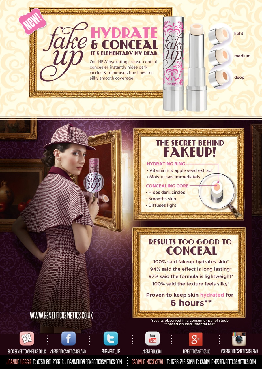 Benefit Fake Up- Make Up For Dummies (Like Me!)