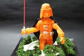 Insanely Cool Star Wars Vegetable Carving