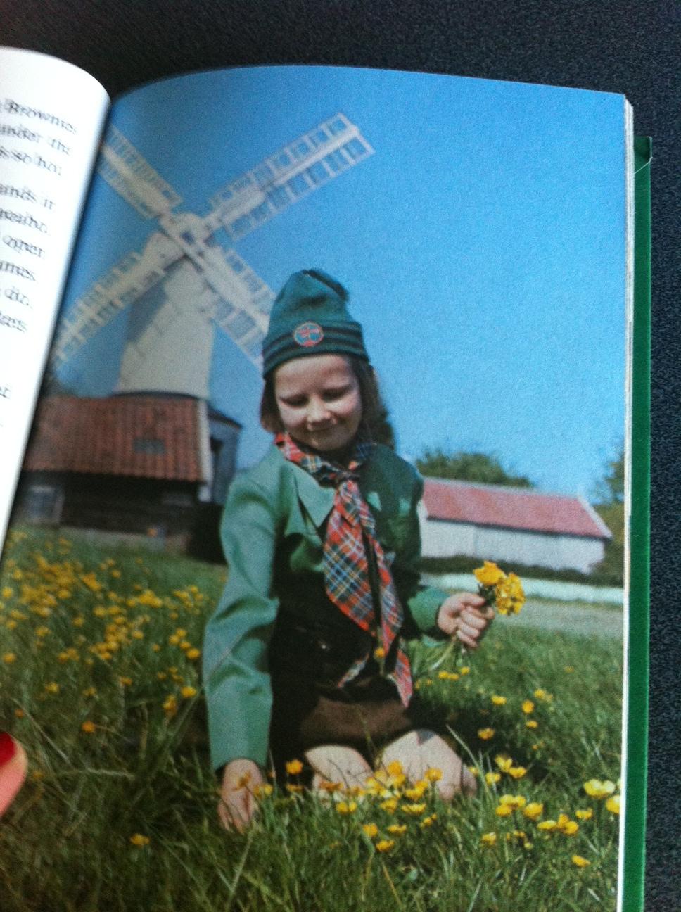 Vintage Ladybird Brownie Guides Book