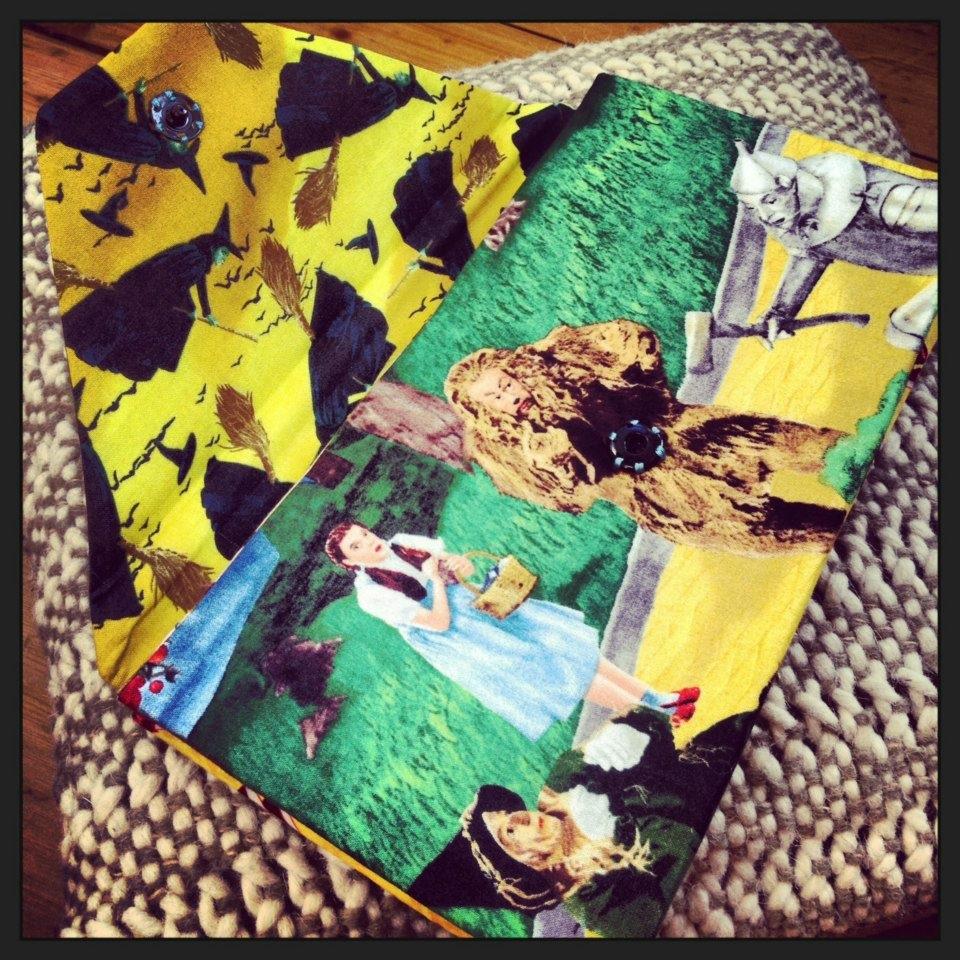 The Gertrude Anna Wizard of Oz Clutch Bag