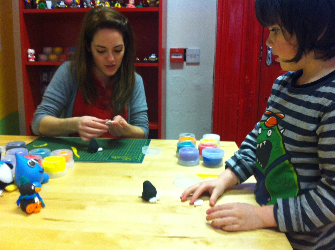 The World of Kitsch Visits Jumping Clay