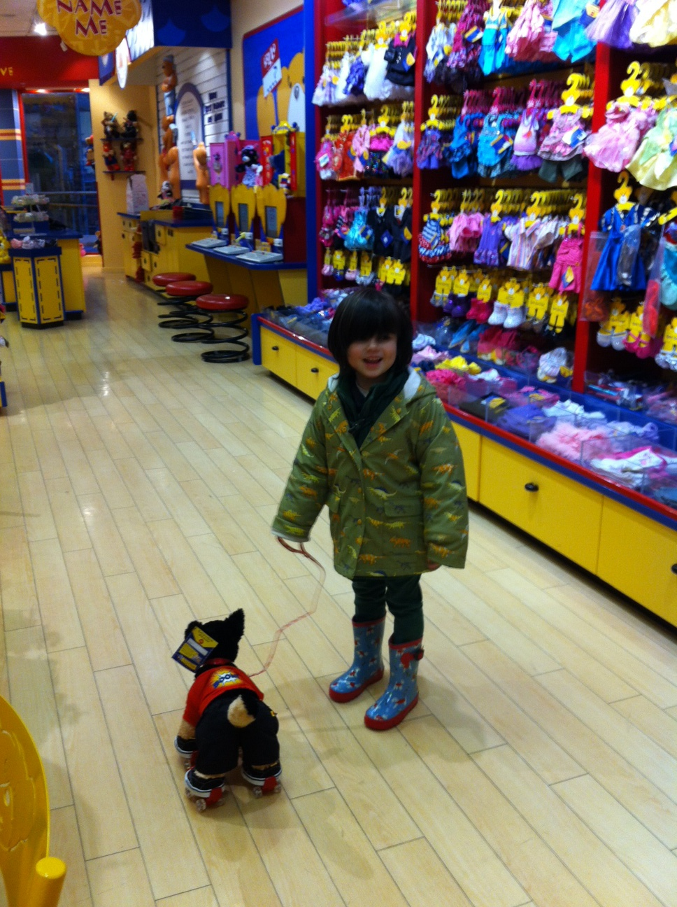 The World of Kitsch have a Build-a-Bear Workshop Experience