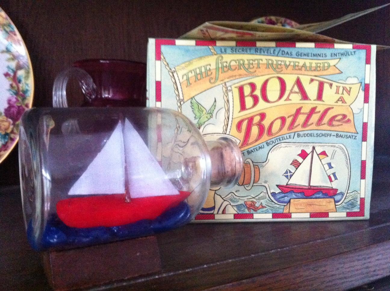Ship in a Bottle- The Secret Revealed