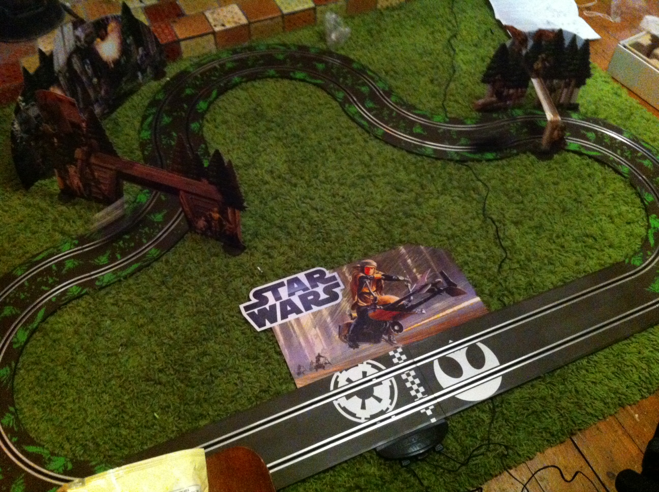 Star Wars Endor Scalextric Set