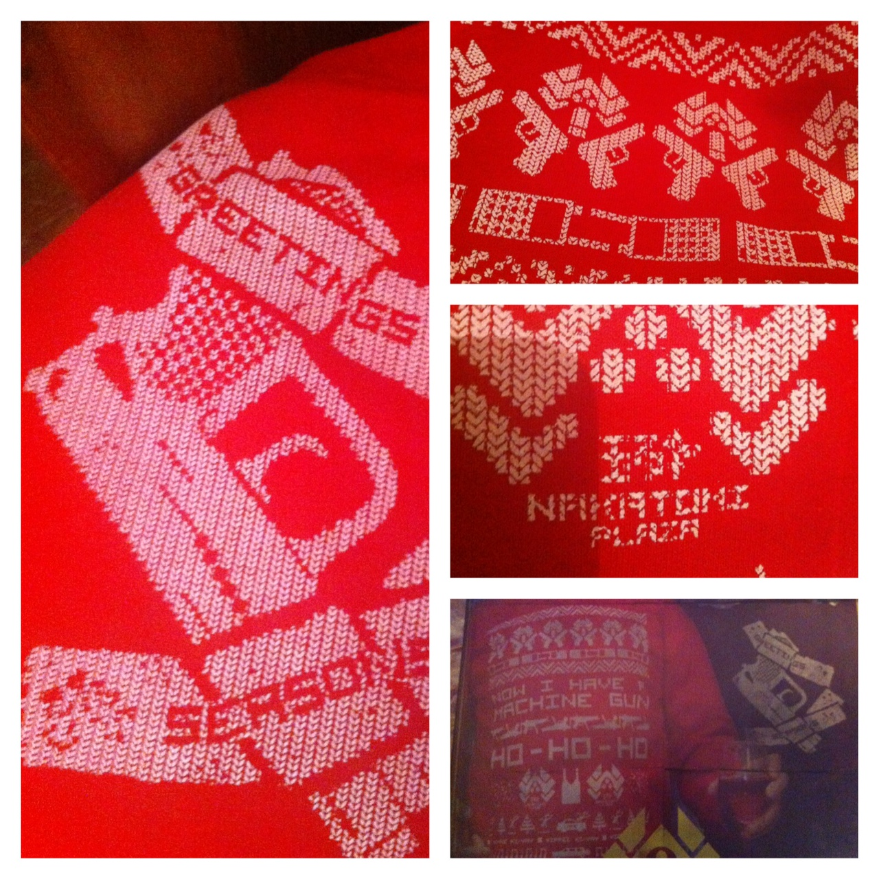 Do You Want to See My Die Hard Christmas Jumper from Dark Bunny Tees?