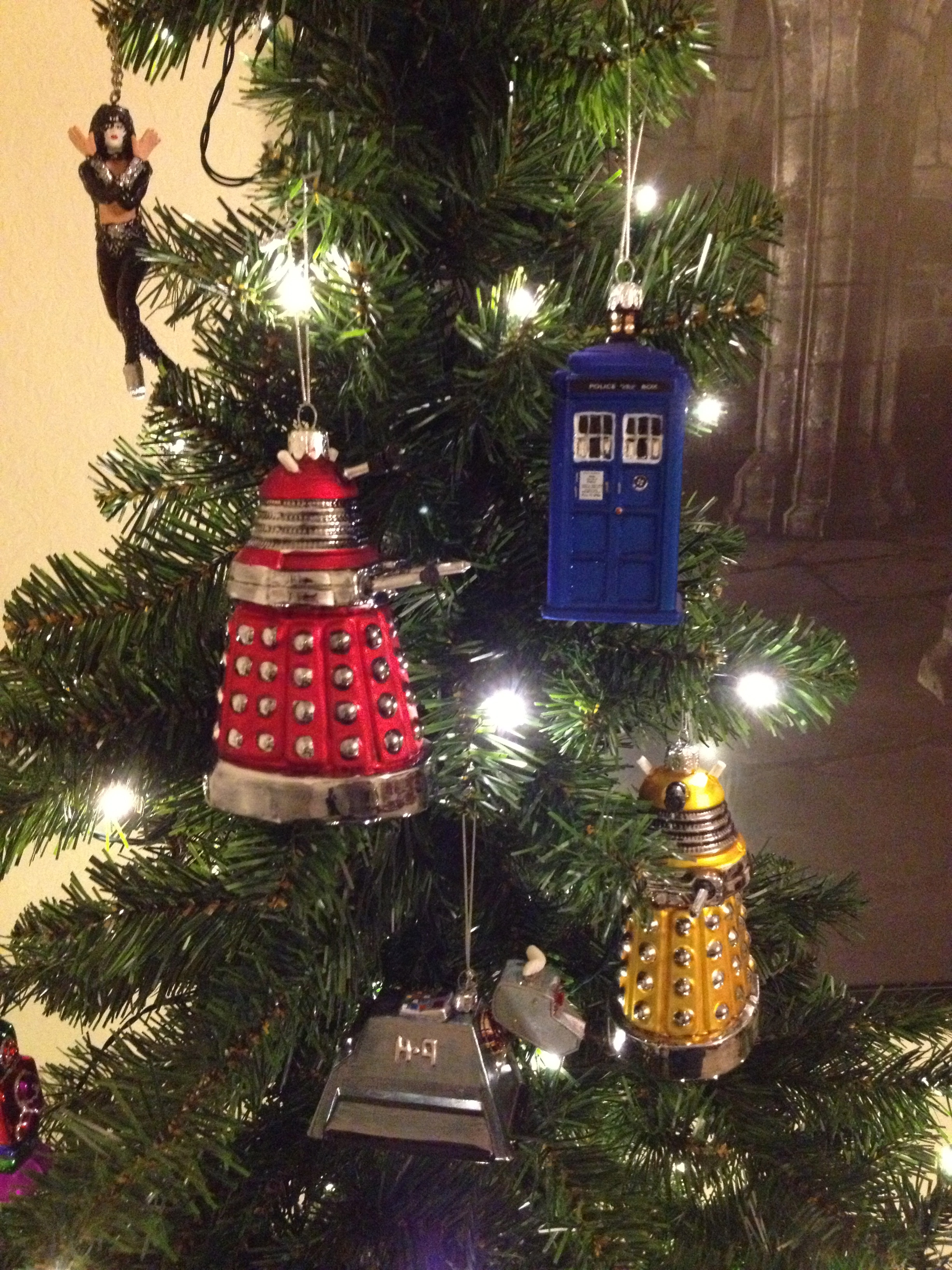 Doctor Who Christmas Tree Ornaments