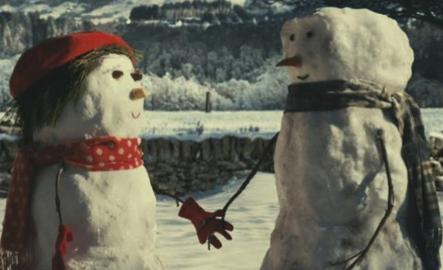 A Sneaky Peek at the Making of the John Lewis Snowman Advert