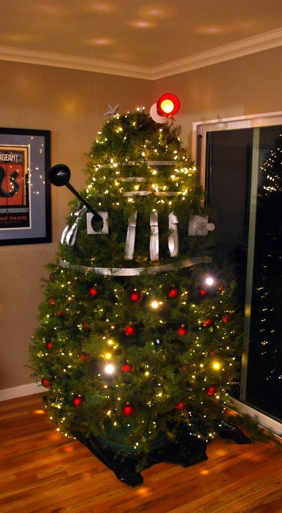 Dalek Christmas Trees