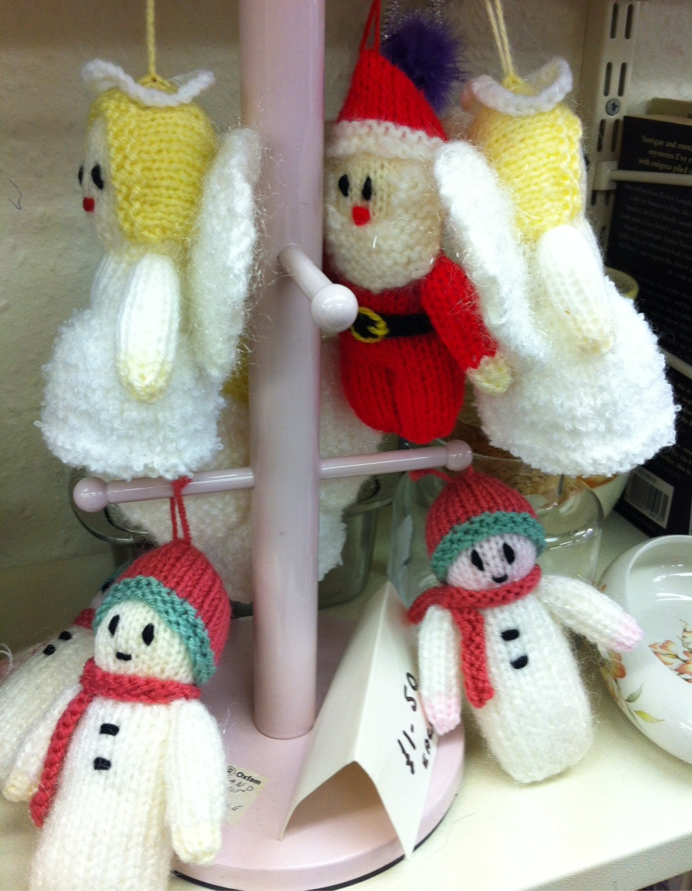 Charity Shopping For Christmas Gifts? Not Just for Scrooges & Weirdos- I Promise