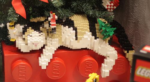 Lego Cats. Good, Bad & Terrifying.