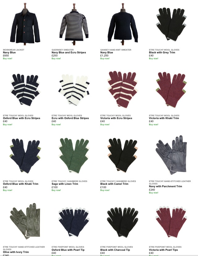 Tweeting Gloves for Winter 2012