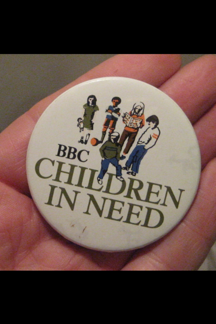 Terry Wogan's Head Toby Mug (really) & other Vintage Children in Need Items on EBay