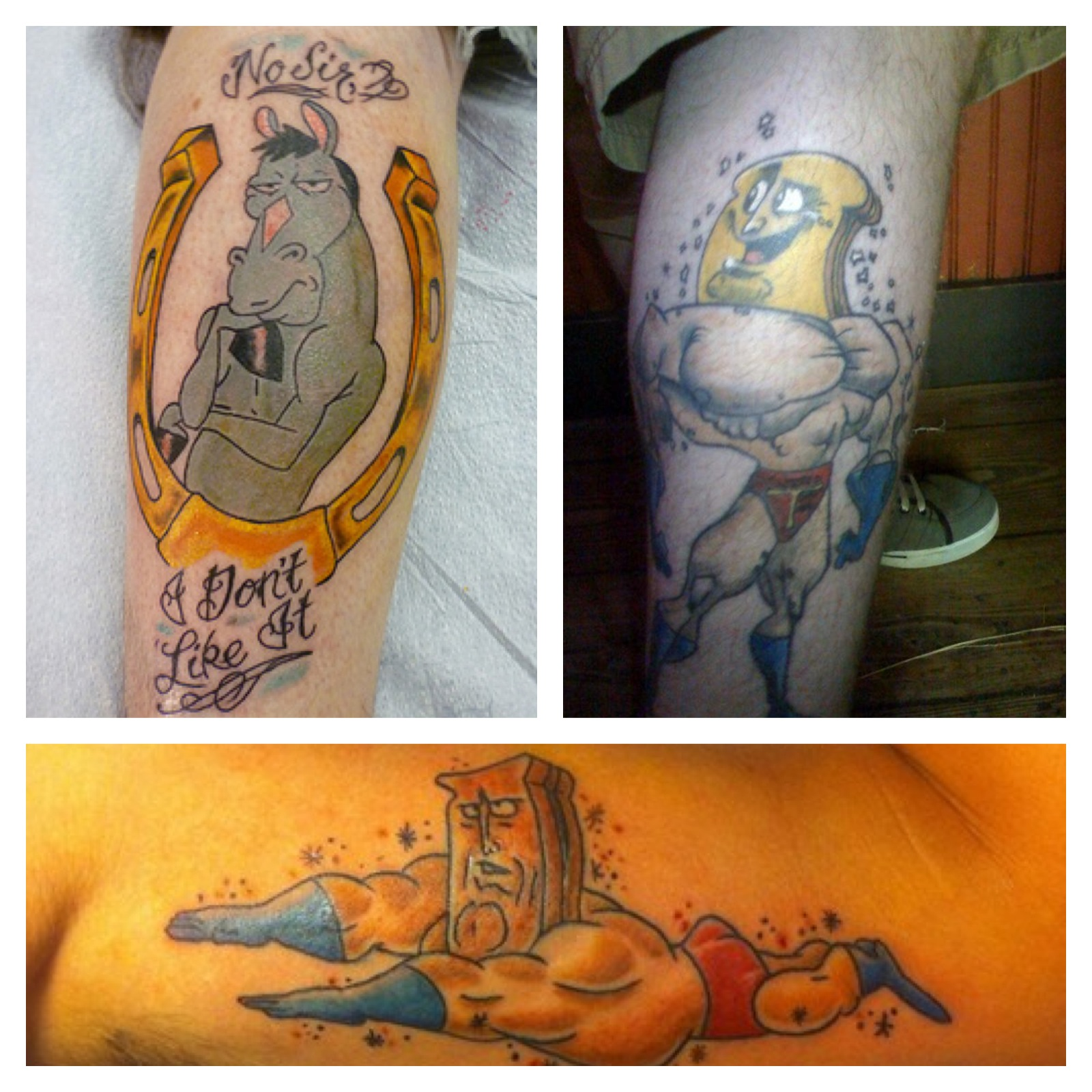 Happy Happy, Joy Joy! Ren & Stimpy Tattoos