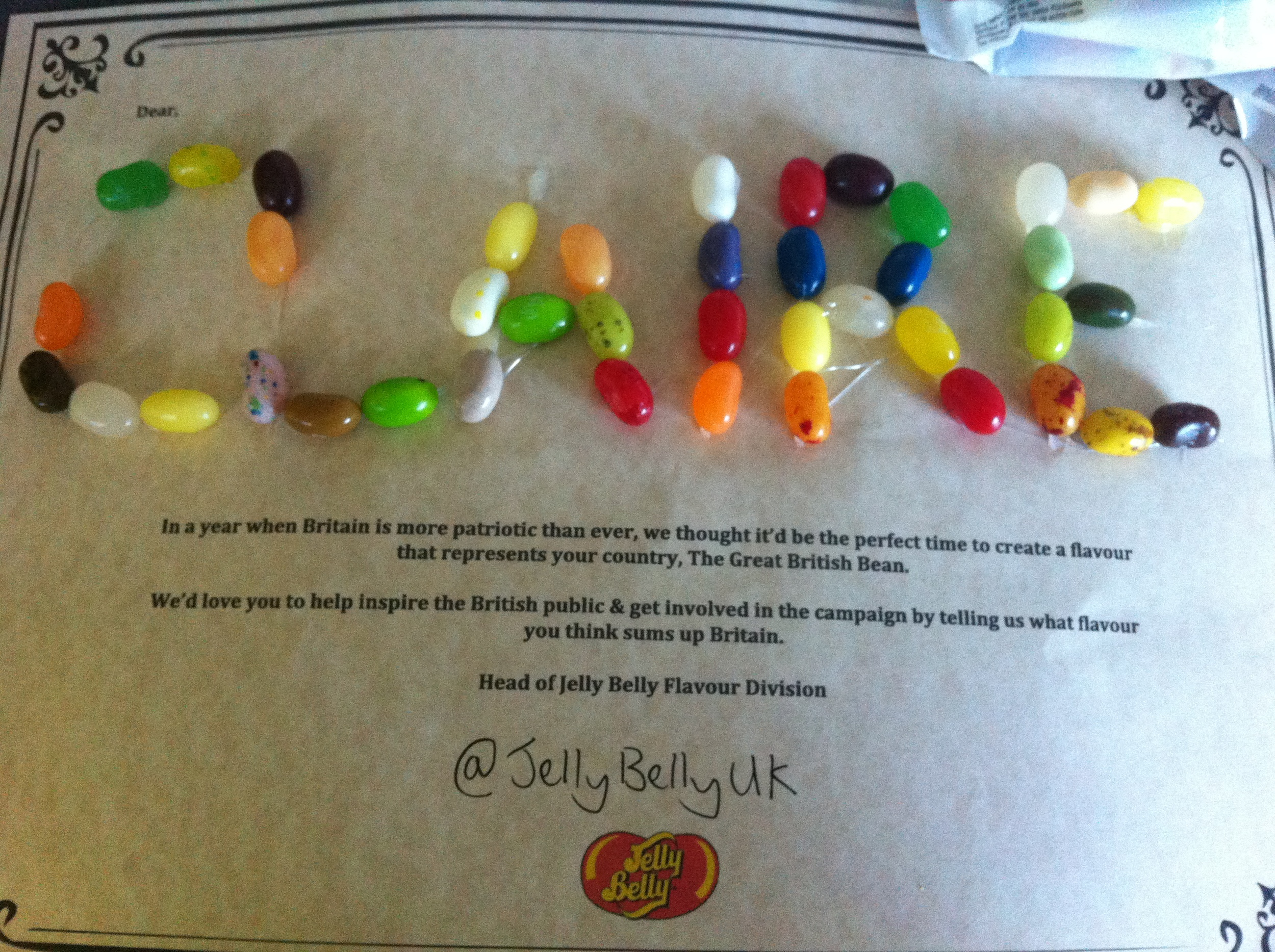 Win a Trip to California with Jelly Belly's Hunt for the Great British Flavour