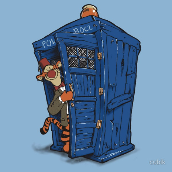 Doctor Who, Winnie the Pooh Mash-ups