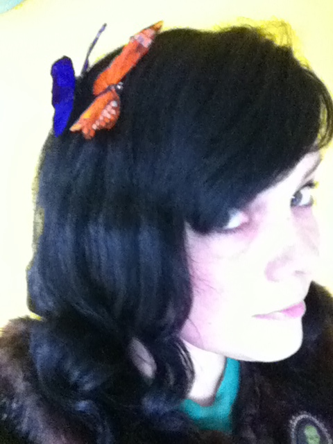 Taxidermy For Your Hair from Cherry-Baby