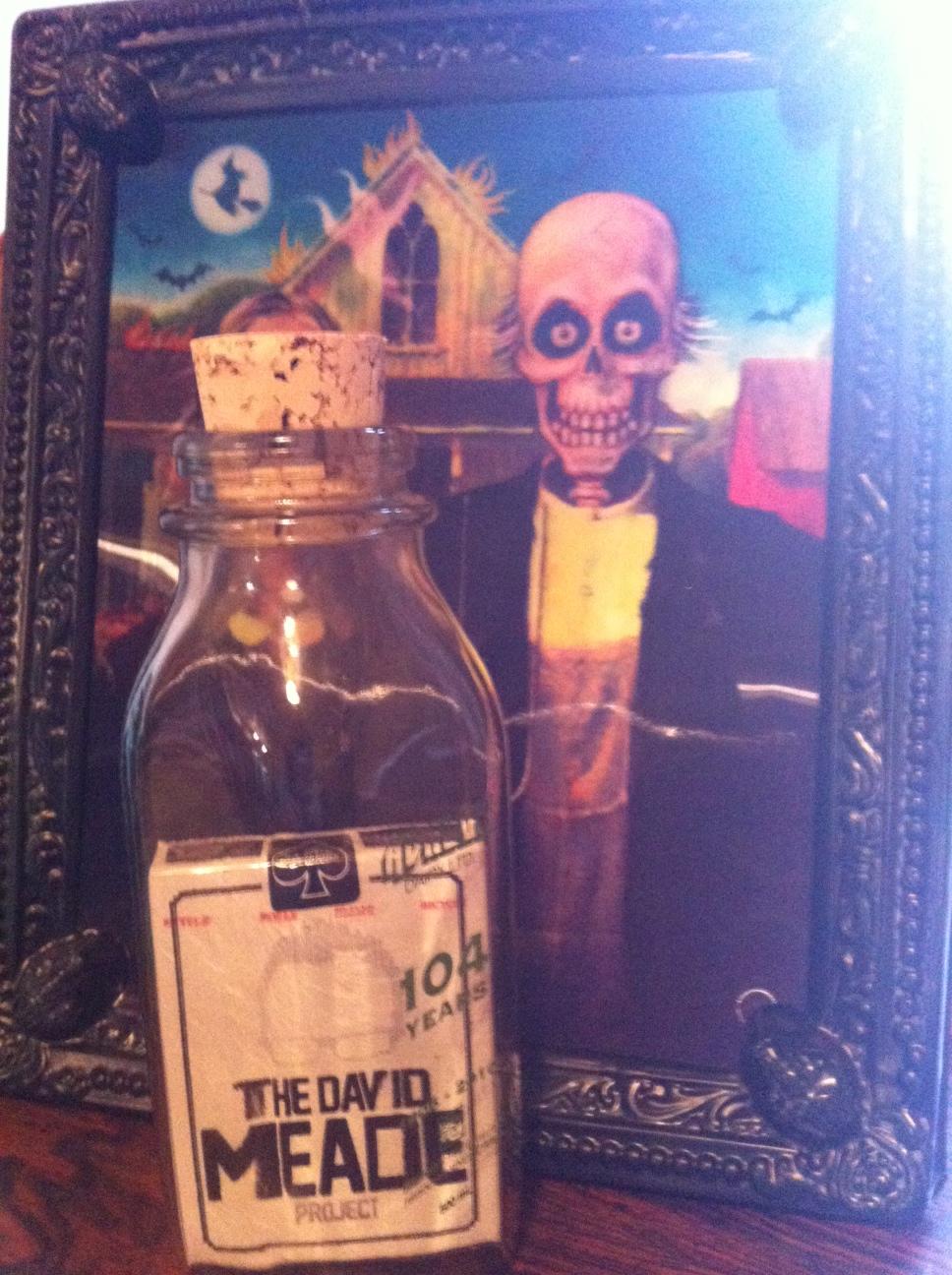 The David Meade Project sends me a Magic Bottle...