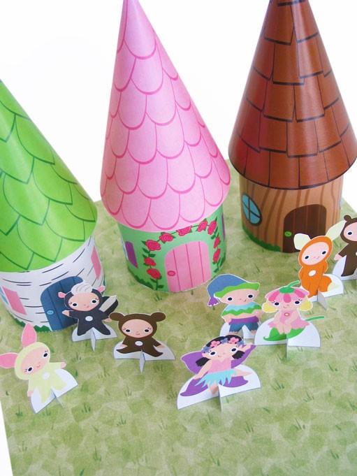Super Cute Fairytale Printable Playsets