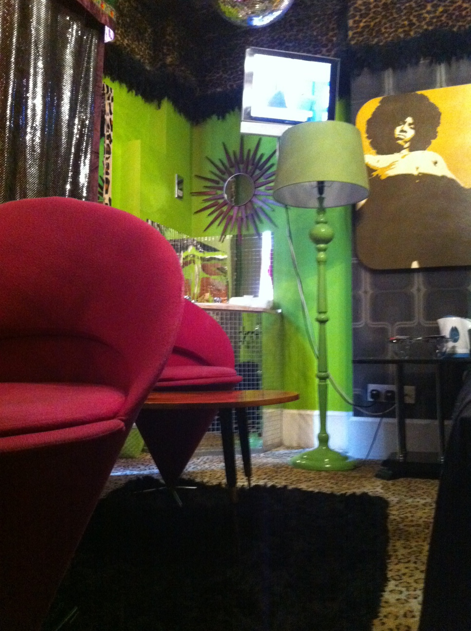 The Funkiest Hotel Room in London