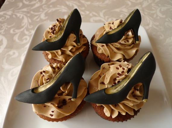 Fashion Week Themed Cupcakes