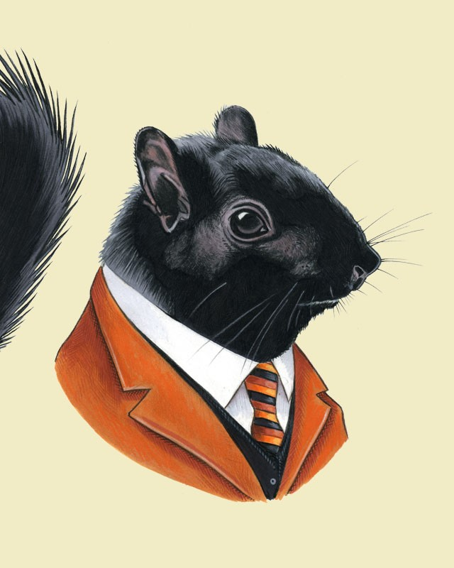 Dapper Animals & Sharks in Suits