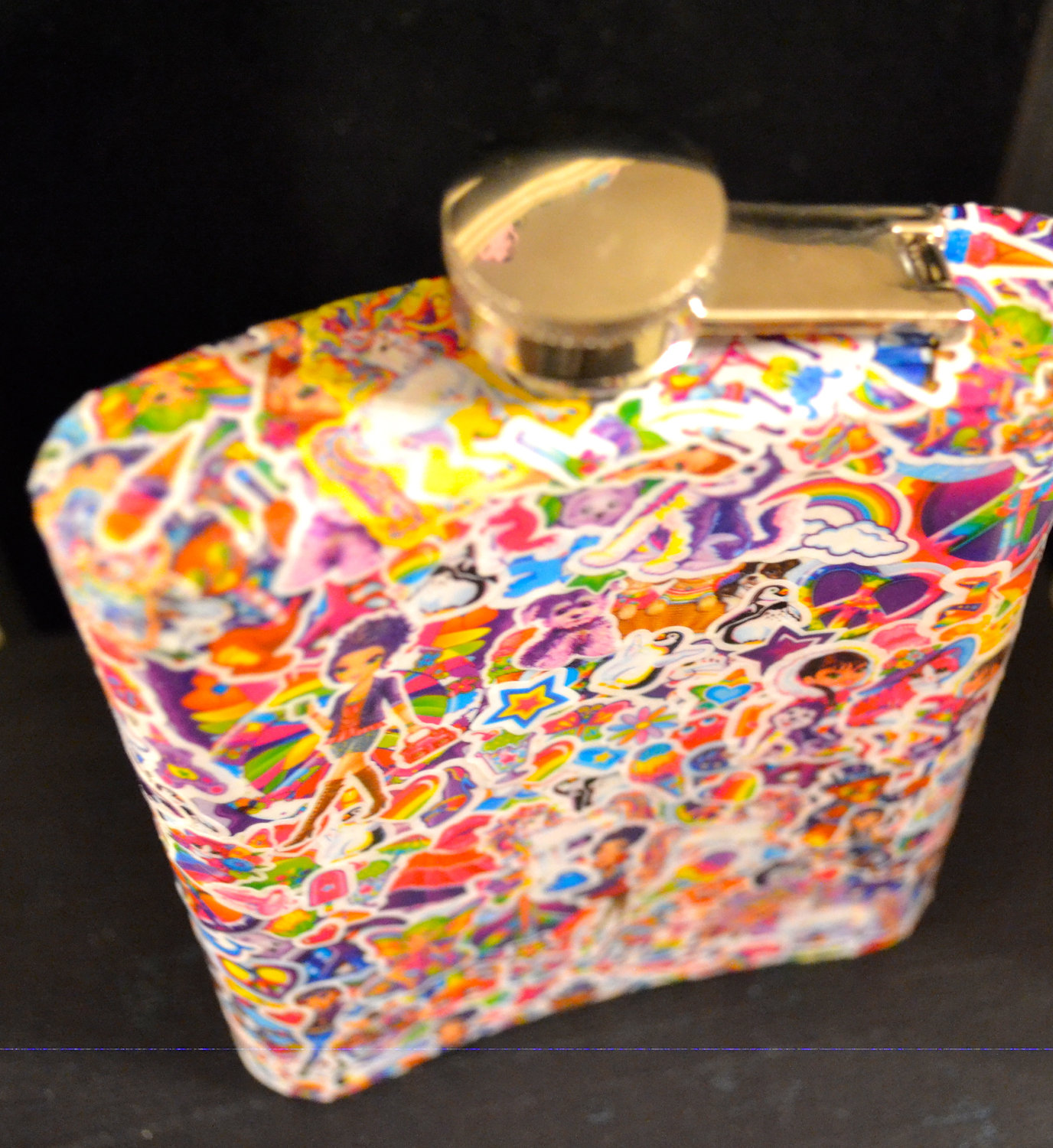 Totally Bitchin' 90s' Hip Flask
