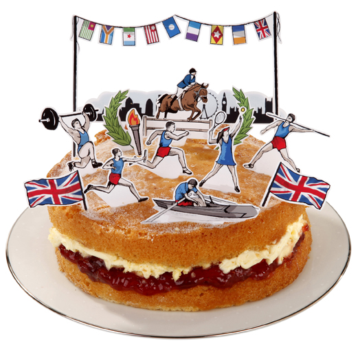 A Lovely Slice of Olympic Cake