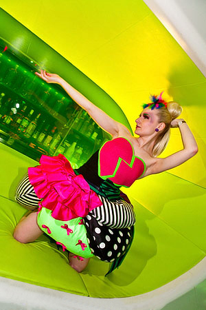 Neon Madness from Anna Kostina