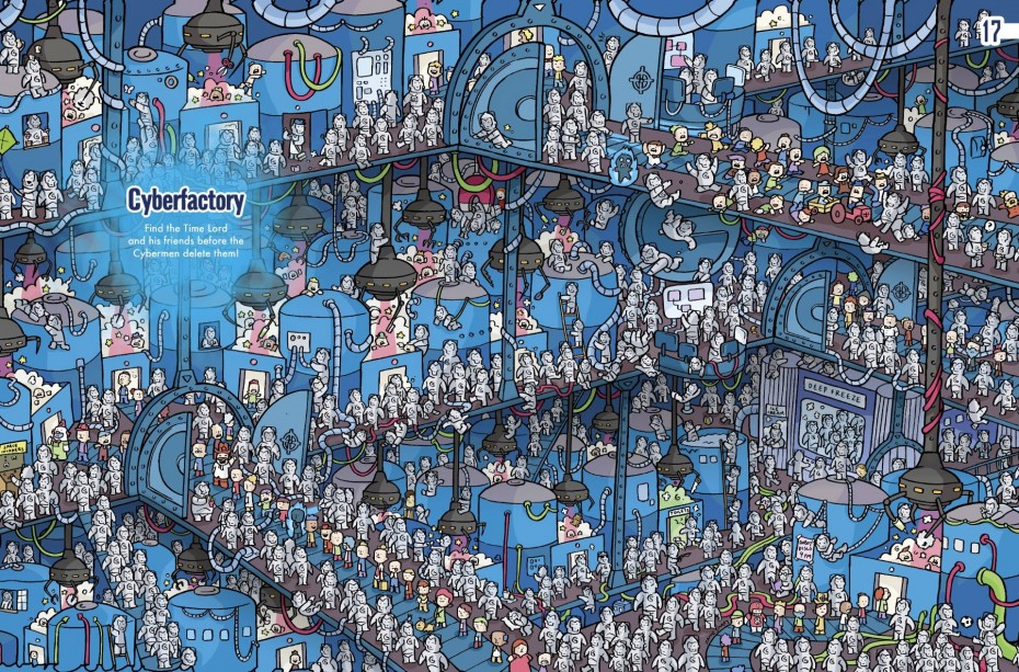 Where's The Doctor? Doctor Who Does Where's Wally?