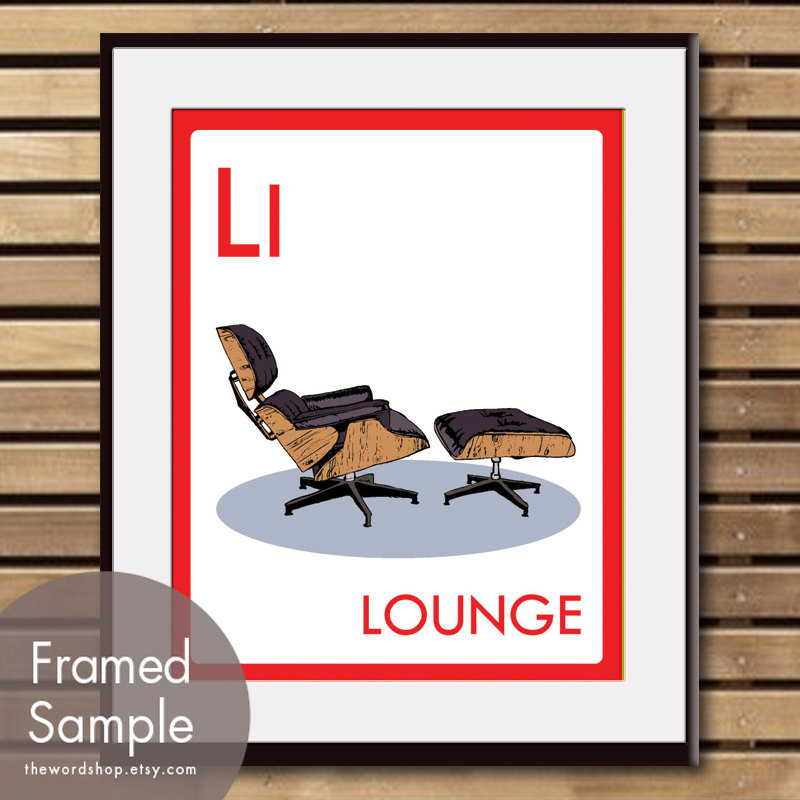 Eames' Lounge Chair. Etsy Picks