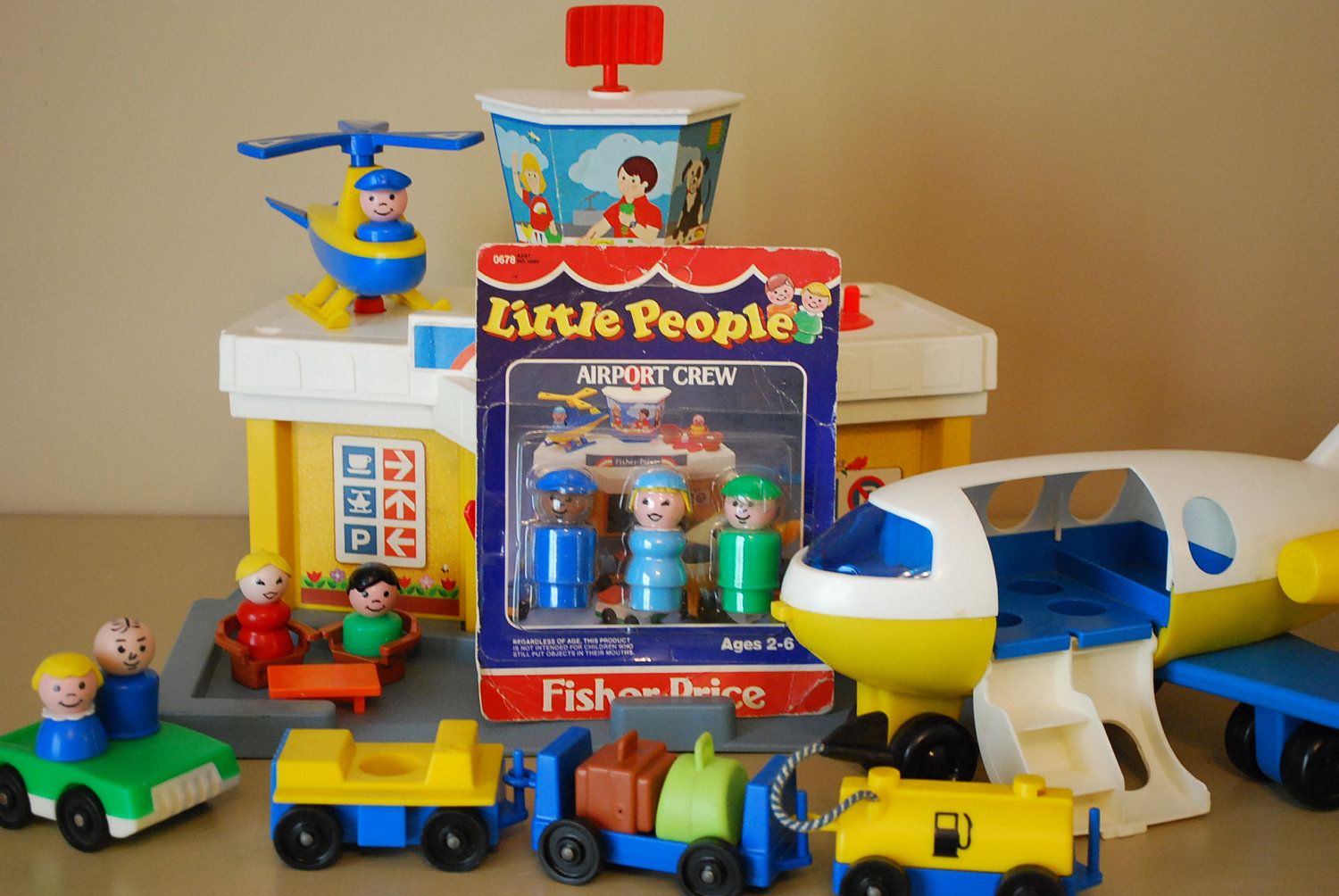 Which of these Vintage Fisher Price Toys Did You Have?