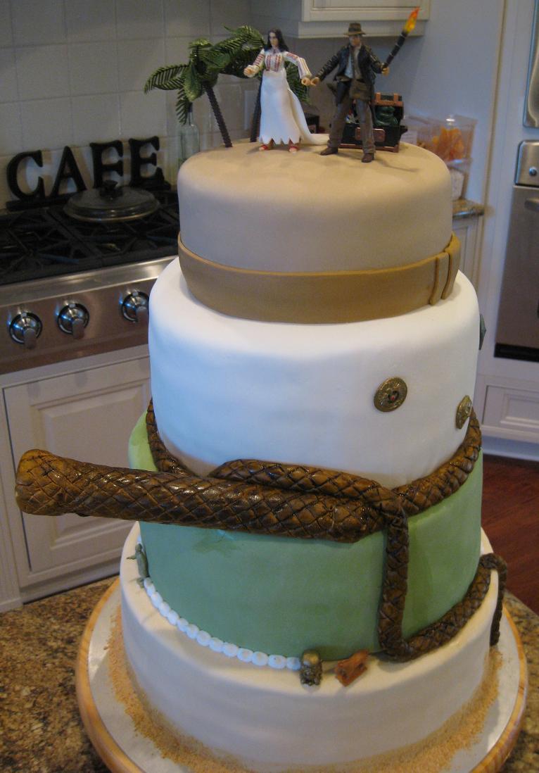 Indiana Jones Themed Wedding