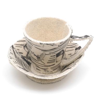 Ridgway Homemaker TeaCup Sculpture