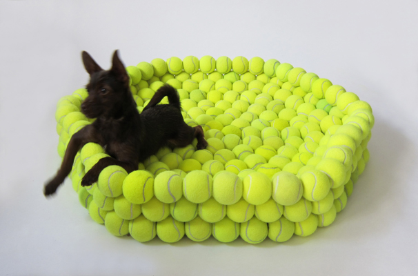 Tennis Ball Doggy Bed