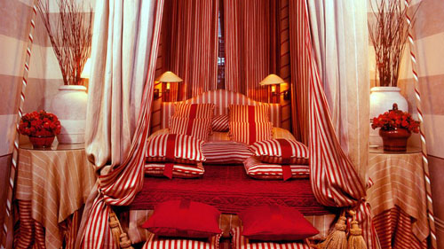 Candy Cane Rooms