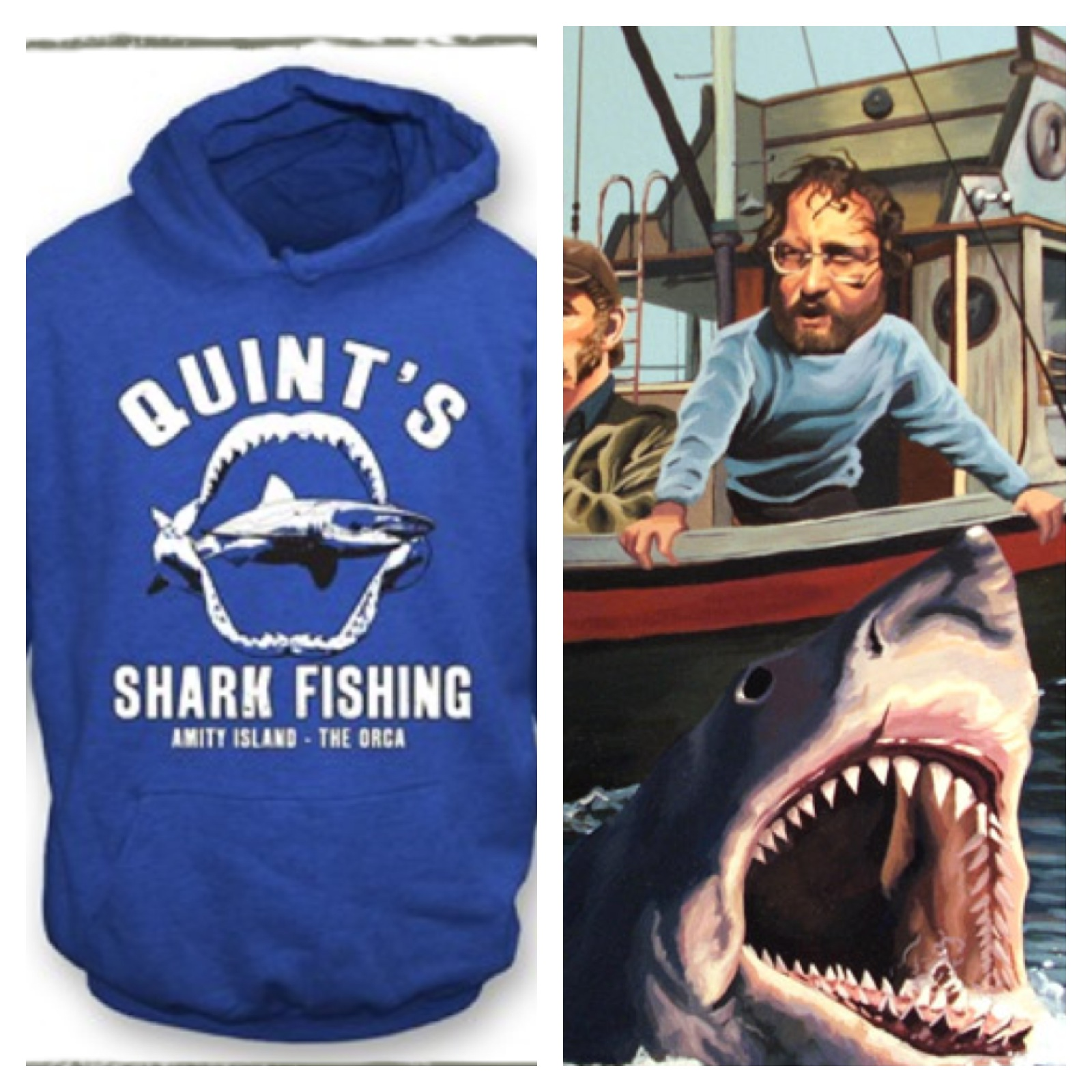 Jaws, Robocop, Pulp Fiction, Wear the Tshirts from the Movies at Tshirt Grill