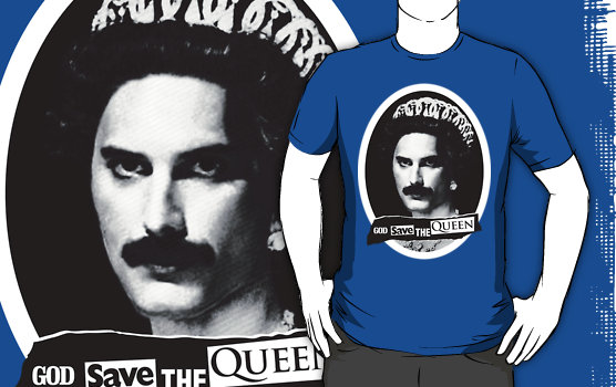 Very British T-shirts. Alternative Jubilee Wear