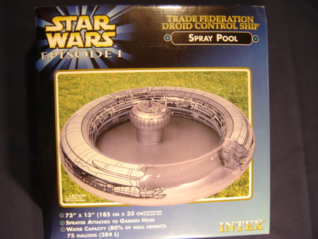 Star Wars Pool Party!