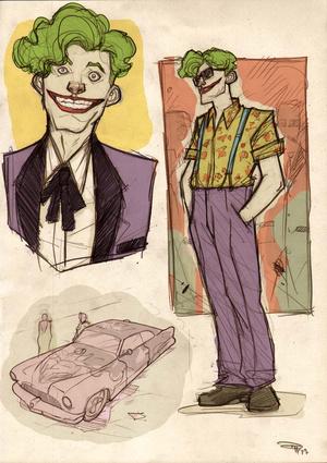 50s' Greaser Batman