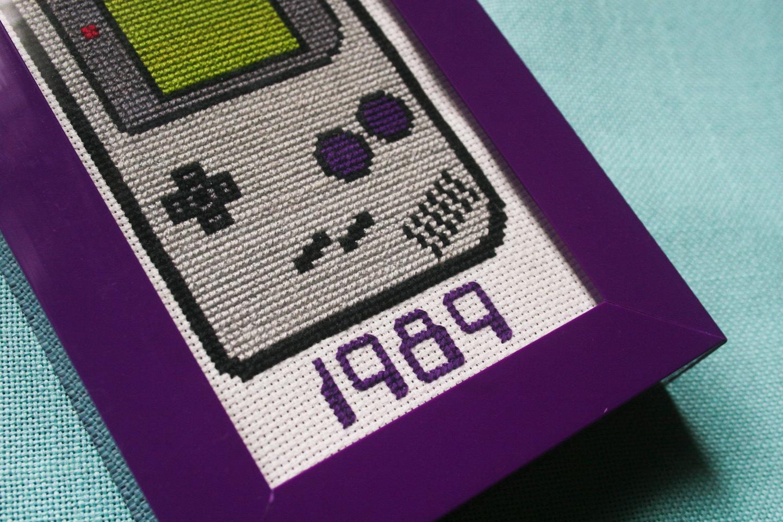 Gameboy Cross Stitch by FingerPricks