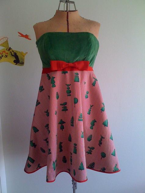 Fantastic Mrs. Fox Dress- Rifka