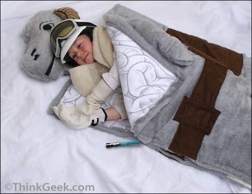 Star Wars' Tauntaun Sleeping Bag