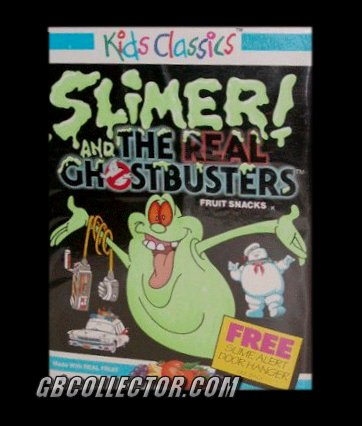 Ghostbusters Food Products from the 1980s