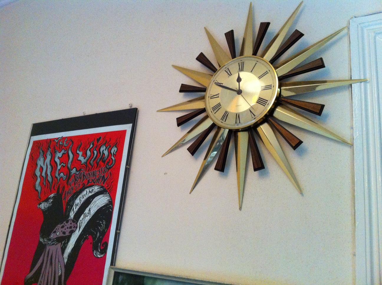 Bargain Sunburst Clocks- Charity Shop Haul