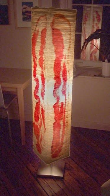 Bacon Lampshade